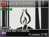 Cloud #1 [x10|Barren|LOOT+|TP|WIPE 24.01]