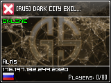 [RUS] DARK CITY EXILE 1.0.4 | PVP | 50k Start | Interior | Patr