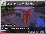 Legenda-CSDM.ru Sentry [Пушки-Лазеры]