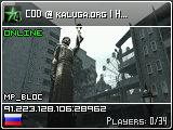 COD @ kaluga.org | Hard | SD