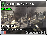 C4S TDM HC HighXP #1 | Cracked | cod4-server.com